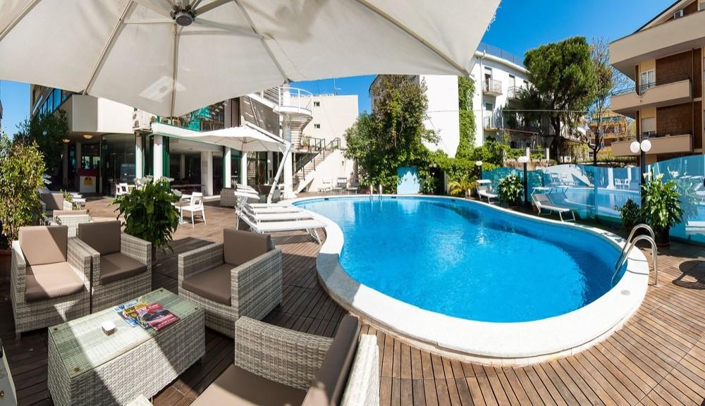 Hotel a cattolica sul mare park hotel cattolica 4 stelle - Piscina da balcone ...