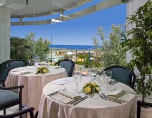 Park Hotel Cattolica Ristorante vista sul mare