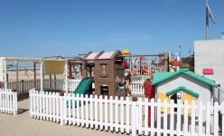 Park Hotel Cattolica giochi bambini in spiaggia